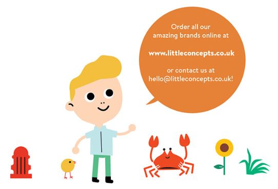 Order on the littleCONCEPTS B2B Web-shop