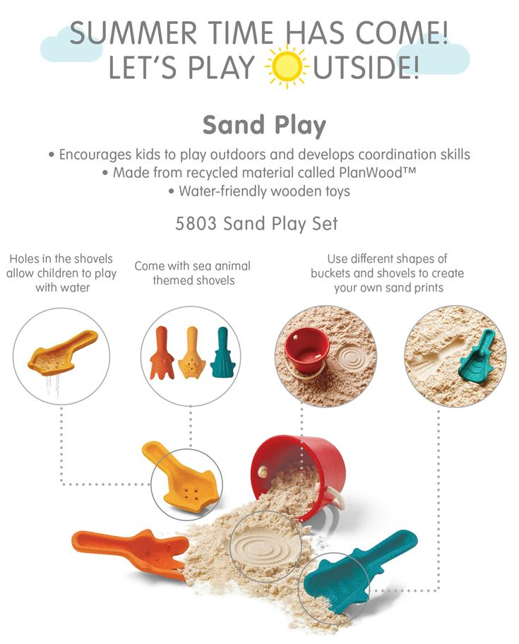 PlanToys Summer Products 5803 Sand Play Set