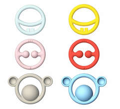 Nigi, Nagi and Nogi - Primary and Mono teethers for babies